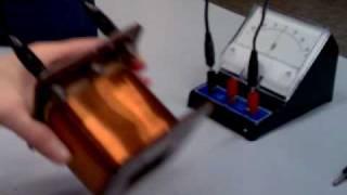 Induzione Magnetica 2 - Bobina sul magnete