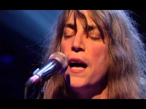 Patti Smith  Because The Night Later with Jools Holland Apr 02
