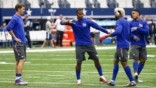 New York Giants Wide Receivers Handshakes    ᴴᴰ