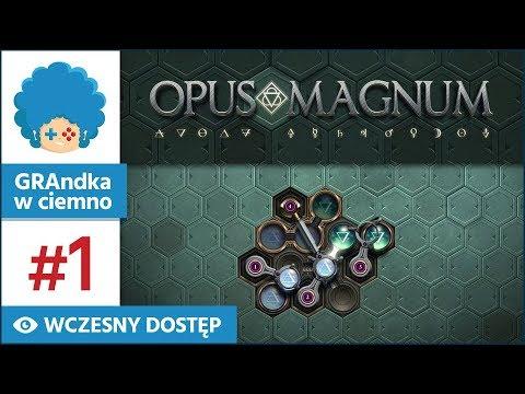 Opus Magnum PL #1 | Nowe arcydzieło Zachtronics!