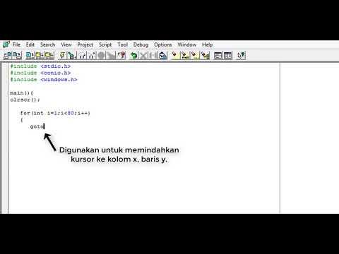 Cara Menggunakan Borland C++ Bagi Pemula