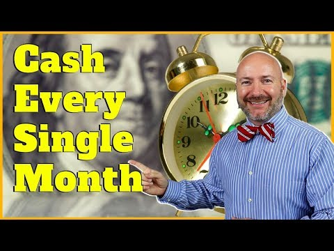 3 Best Monthly Dividend Stocks for Passive Income
