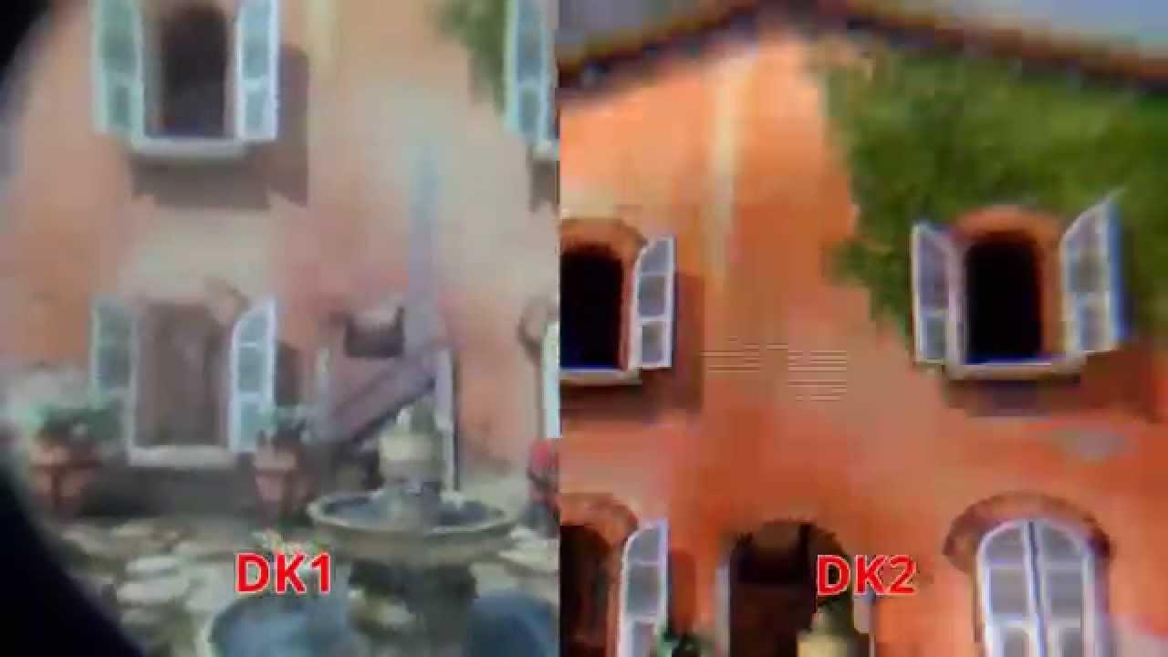 b6f43978ed5 Oculus Rift DK2 Screen Comparison to DK1 - YouTube