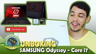 Notebook Samsung Odyssey Core i7 7° Geração