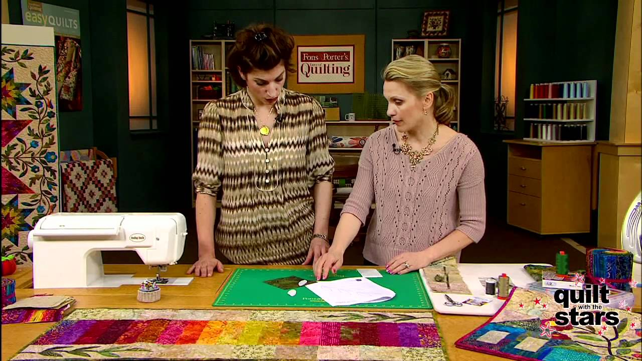 Quilt with the Stars: Edyta Sitar, How-to - YouTube : quilting with the stars - Adamdwight.com
