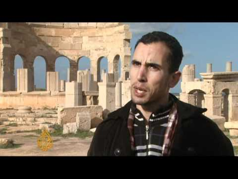 From tourist attraction to ghost town in Libya
