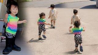 [vlog] 애들 데리고 사무실로 출근하기.. 쉽지 않네...😂