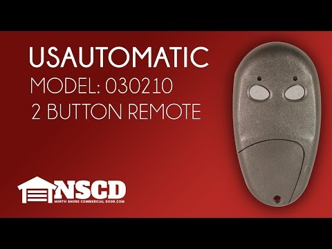 USAutomatic LCR Transmitter 030210 Control For Patriot & Ranger Gate Openers