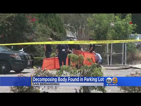 Decomposing Body Found In San Bernardino Parking Lot