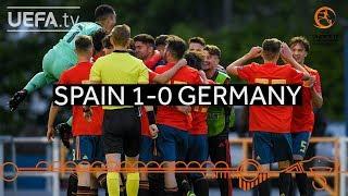 #U17 Highlights: Spain 1-0 Germany