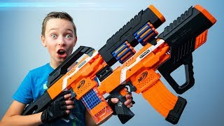 5 Best CRAZY NERF Blaster Combos built from NERF Arsenal