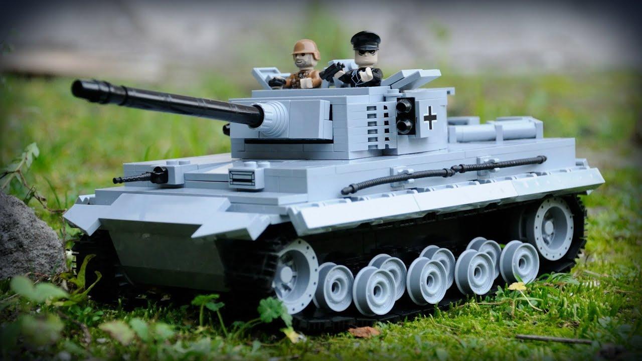 COBI Tiger Tank / Tygrys (2436) - review / recenzja - YouTube