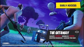 Fortnite Throwback: The Getaway