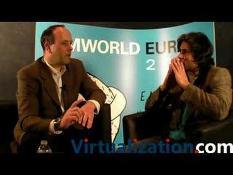 Virtualization.com  Chuck Tatham, VP Marketing & Business Development with CiRBA  VMworld Europe 2008