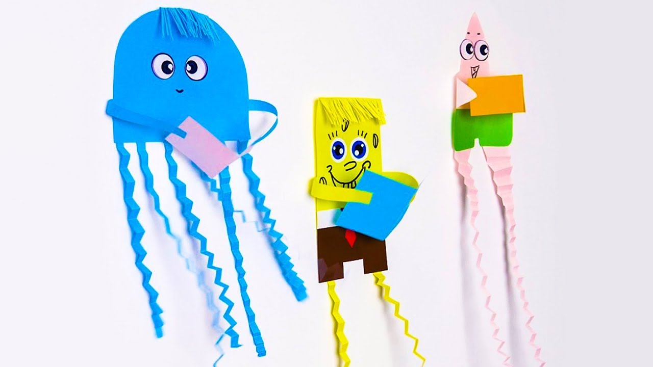 17 EASY-TO-MAKE PAPER TOYS