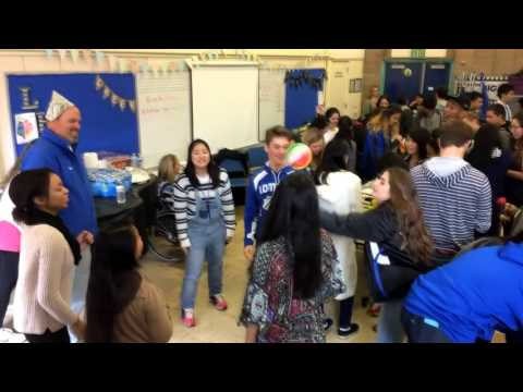 Lompoc High School hosts a group of Japanese exchange students