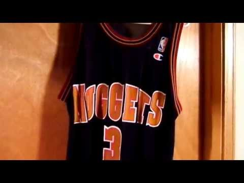 Denver Nuggets Early 90's Mahmoud Abdul-Rauf Road Replica Jersey Review