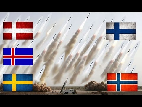 NORDIC ARMED FORCES💣How Powerful Are The Nordic Countries?  2017💣