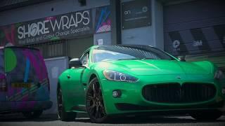 Maserati Granturismo Wrap