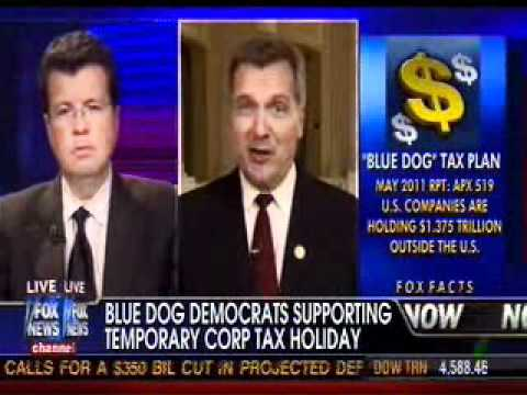 "Blue Dog Congressman Jim Matheson of Utah discusses the ""Freedom to Invest Act of 2011"""