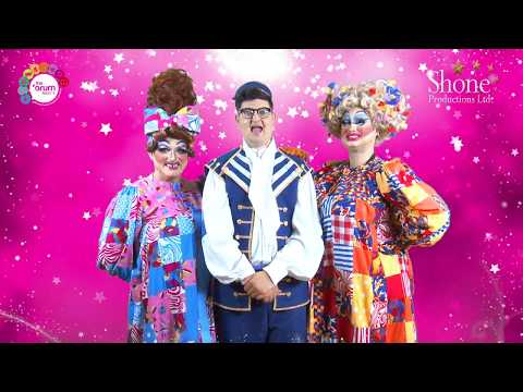 Cinderella Panto Launch Trailer 2017 Shone Productions The Forum Theatre Barrow