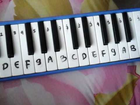 Pianika lagu kalhonaho