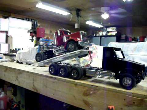 Flatbed Tow Truck >> Doug & Travis's rollback tow truck - YouTube
