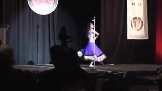 Megha bollywood dance performance- Radha Tera Jhumka song