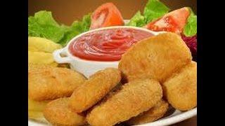 تحضير(Chicken Nuggets) للأطفال في المنزل مثل لي في المطاعم
