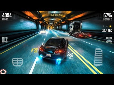 Street Racing Car Traffic Speed 3D / Sports Car Racing Games / Android Gameplay FHD