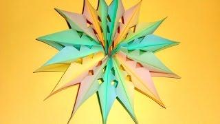 Новогоднее украшение из бумаги. Новогодние игрушки своими руками