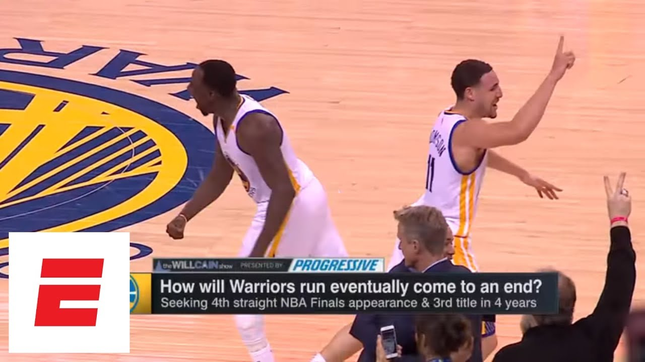 Ryen Russillo: If Warriors lose to Rockets, their core might break up | The Will Cain Show | ESPN