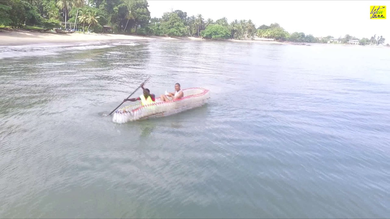 CAMEROON First ECOBOAT test at Londji Beach in Kribi