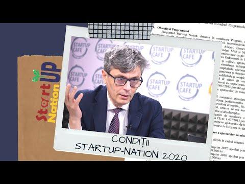 Start-Up Nation 2020, condiții noi: Aport propriu, interviu cu antreprenorii, sesiuni multiple.
