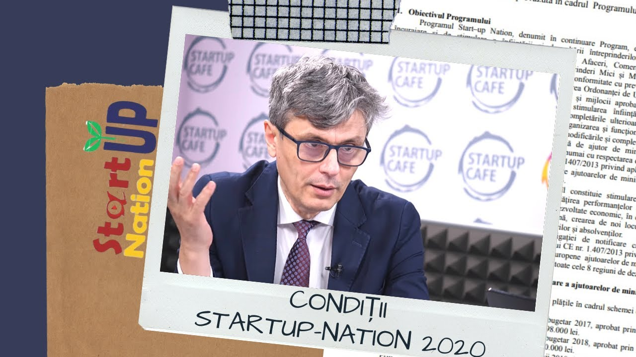Cand incepe start up nation 2020