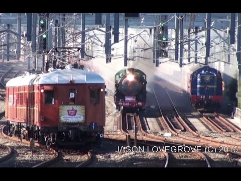 Transport Heritage NSW The Great Train Race 11-6-2016