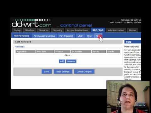Using DD-WRT For Bandwidth Control