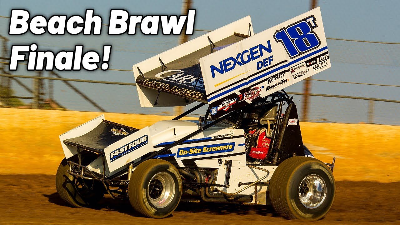 BEACH BRAWL FINALE With The All Stars At Lake Ozark Speedway!