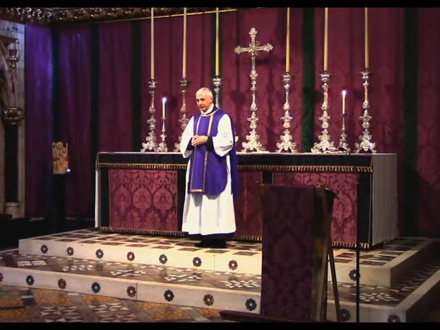 Mass on the 2nd of April