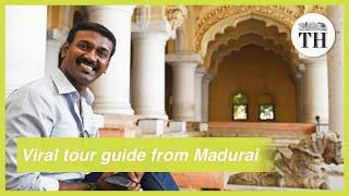 Madurai's viral tour guide Nagendra Prabu