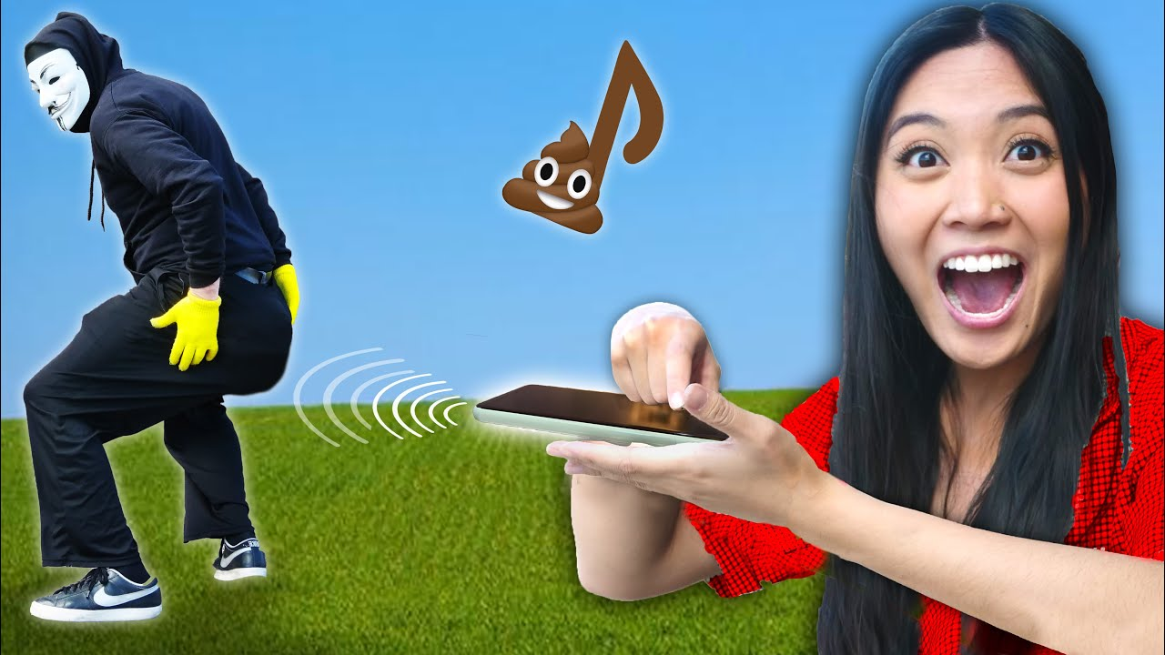 This SOUND Makes You POOP! I Craft a Funny Prank Gadget for DIY Tricks & Hacks to Find Hacker Cr