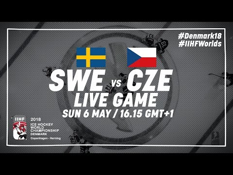 Sweden - Czech Republic | Full Game | 2018 IIHF Ice Hockey World Championship