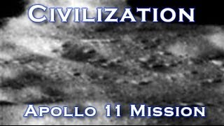 Apollo 11 Photograph Shows Lunar Civilization On Moon