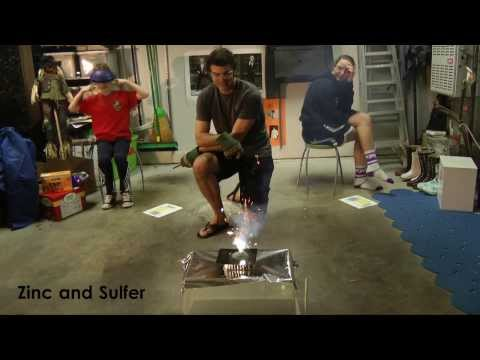 Dad Does Element Experiments with his Kids
