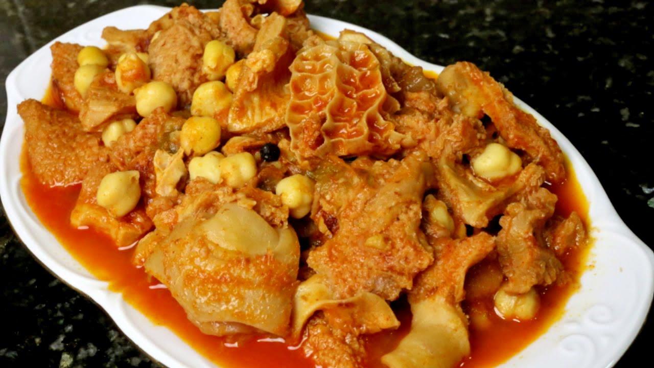 Cocina Tradicional Andaluza | Receta De Menudo Callos A La Andaluza Youtube