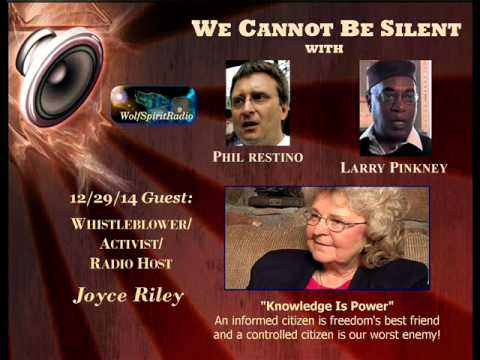 Whistleblower/Activist/RadioHost Joyce Riley of The Power Hour