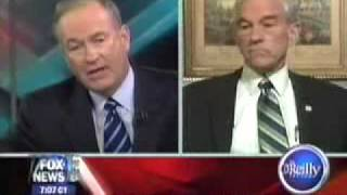 Ron Paul Schools Bill OReilly