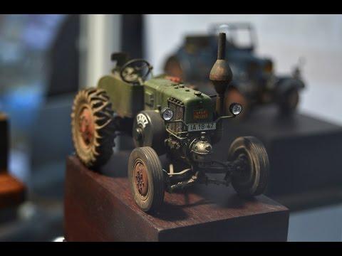 видео: novoslet-2015 фотографии с выставки. Стендовый моделизм в Новосибирске. Тракторы, танки, машины