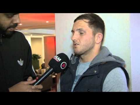 DALE EVANS INTERVIEW FOR iFILM LONDON / PRIZEFIGHTER 3 WELTERWEIGHTS (WEIGH-IN)