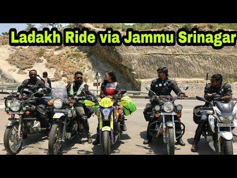Delhi - Pathankot - Jammu || Ladakh Dairies